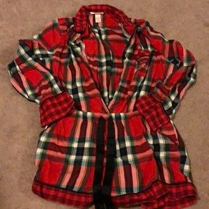 Great condition VS Christmas romper size M